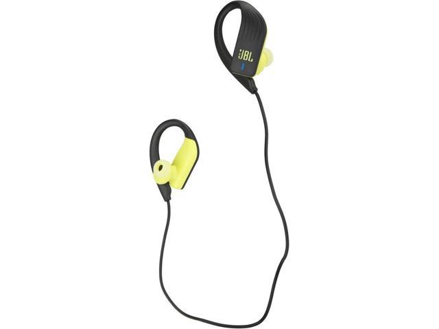 Jbl Endurance Sprint Waterproof Wireless In Ear Sport Headphones With Touch Controls Yellow Newegg Com