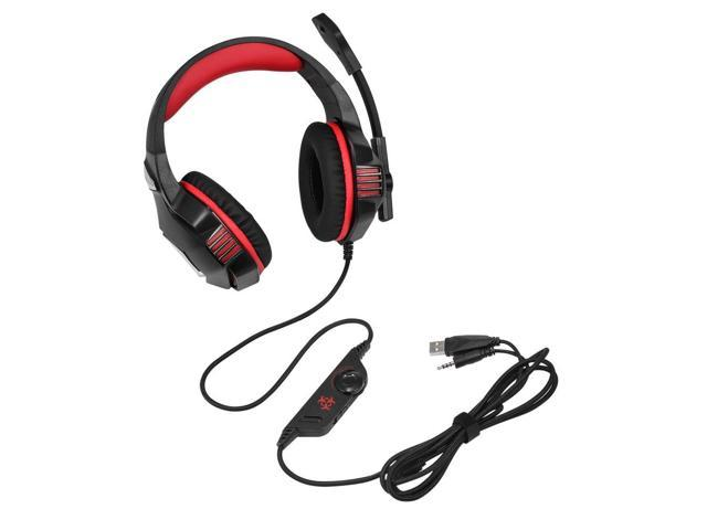 Hunterspider Noise Isolating Earphone Headset Comfortable Over-Ear Stereo  Music Computer Gaming Headphone V3 - Newegg com