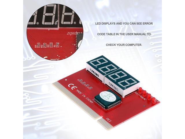 Maikou 4 Digit PCI PC Motherboard Digital Diagnostic Card Post Tester  Analyzer - Newegg com