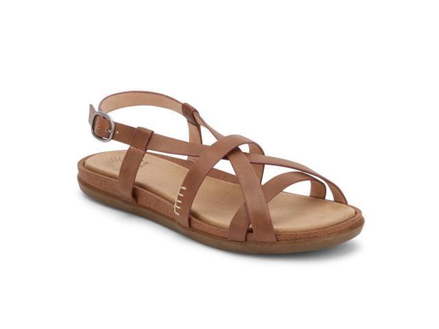 96fc2d83572 G.H. Bass   Co. Womens Margie 2.0 Leather Sunjuns Sandal Shoe ...