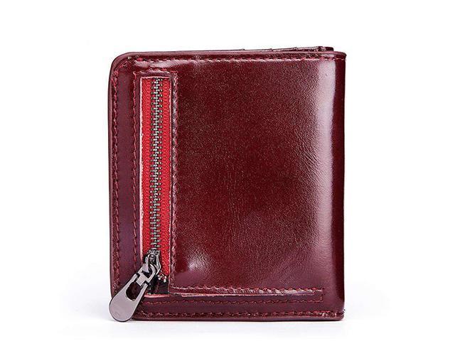 f3886c149e3f AutofeelSunriseoffice Ultra Thin Men Women RFID Blocking Purses Male  Genuine Leather Wallet Multi Card Holder Purse Mini Money Coins Purse Short  ...