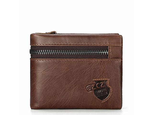 Male Wallet Multi Mini Men King Autofeelsunriseoffice Holder Anti New Leather Genuine Coins Rfid Purse Money Theft Card Short Blocking Purses 6f7gby