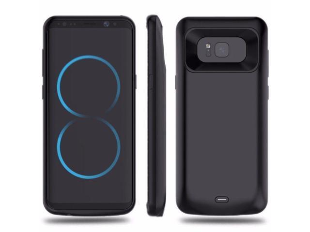 purchase cheap 4d25f 5d0fa JS For Samsung Galaxy S7 S8 S9 8000mAh Charger Case External Power Bank  Battery Black Galaxy S8 - Newegg.com
