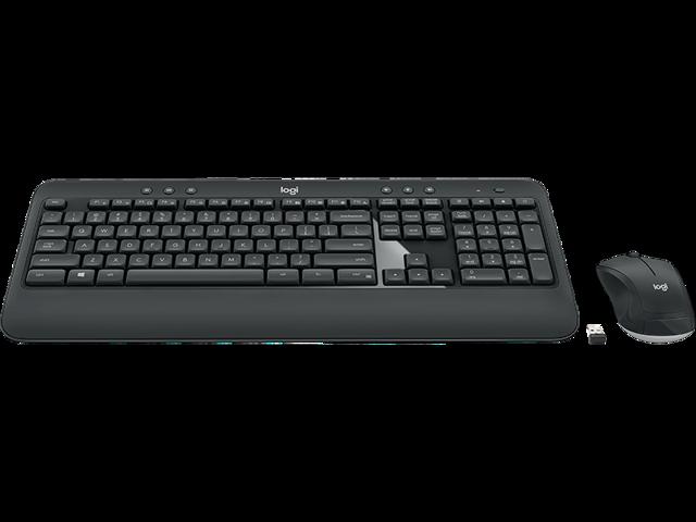 USB 2.0 RF Logitech MK270 Wireless Keyboard and Mouse Combo 920-004536