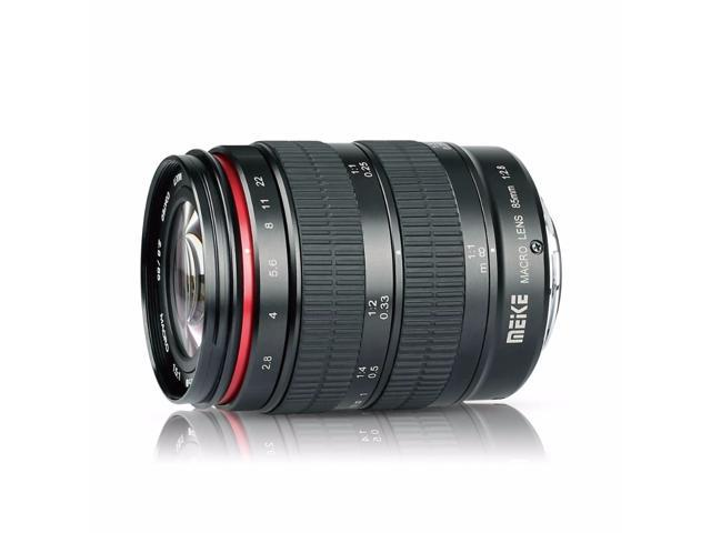 2a9e8edaa Meike 85 F/2.8 enfoque Manual asférica medio fotograma completo telefoto  Prime Macro lente mm con capacidad de retrato para cámaras DSLR de montaje  ...