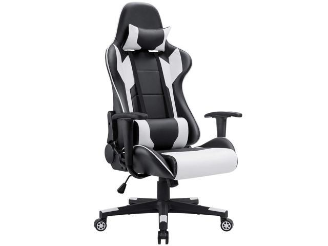 Homall Racing Style Ergonomic Computer Gaming Chair with High-Back Swivel PU Leather