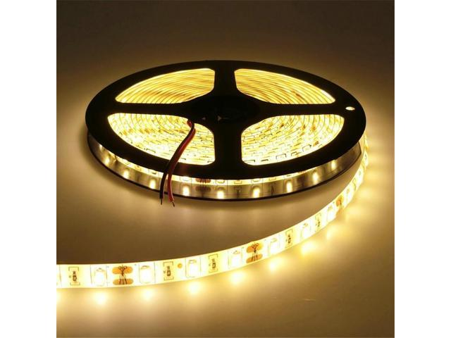 1pcs Led Strip Lights Flexible Warm White Light Waterproof Forindoor Outdoor Lighting Dc12v Newegg