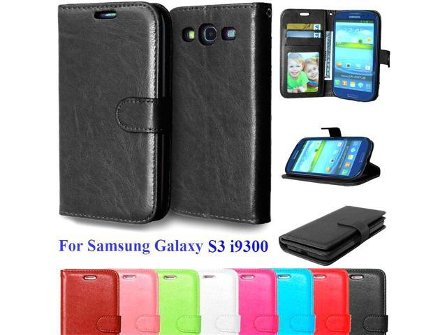 quality design 0b9ea f407e Case For Samsung Galaxy S3 Cell Phone Wallet Flip Cover For Samsung Galaxy  S3 I9300 Neo i9301 Duos i9300i Vertical Phone Cases - Newegg.com