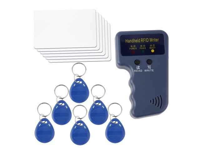 Handheld RFID 125KHz EM4100 EM410X ID Card Copier 6 Writable Tags And Cards  - Newegg ca