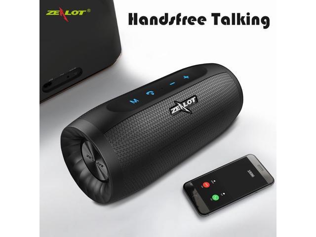 a03a29f9b67605 ZEALOT S16 HIFI Bluetooth Speaker Super Bass Wireless Stereo Soundbar AUX  TF Card Play Outdoor Handsfree