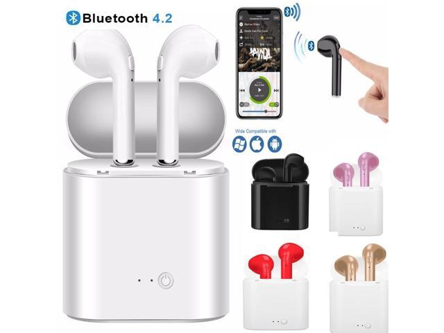 i7/i7s TWS Wireless Bluetooth Earphones In-Ear Music Earbuds Set Stereo  Headset With Charging box Earphones For iphone X 6 7 8 Samsung Xiaomi -