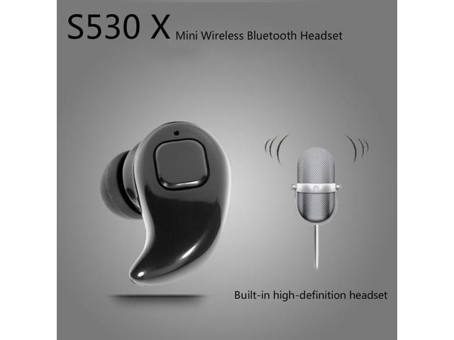 5b8efb20f56 S530 X/S530 Mini Invisible Ultra Small Bluetooth 4.1 Stereo Earbud Headset  With Microphone Support