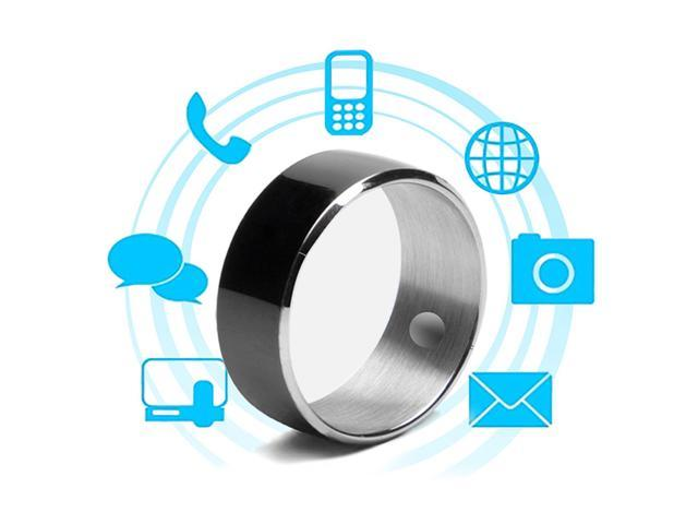 Jakcom R3F Smart Ring for High Speed NFC Electronics Phone Smart  Accessories - Black (Size 8)/3-Proof App Enabled Wearable Technology Magic  Ring -