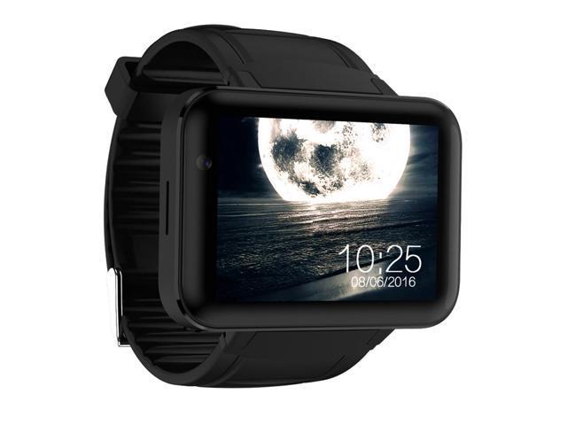 a1d4eca8caad DOMINO DM98 Android 3 G reloj teléfono inteligente con batería 900mAh -  negro 2.2 pulgadas