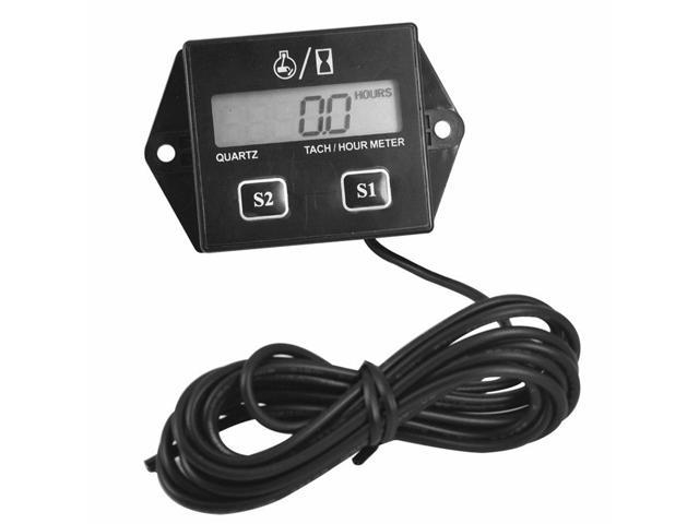 Tachometer With Hour Meter : Counter hour meter tachometer fox controls quality in