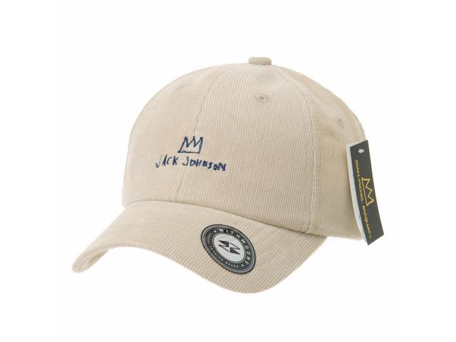 WITHMOONS Corduroy Baseball Cap Jean-Michel Basquiat Crown Hat CR1815  (Beige) 6d840bb05da5