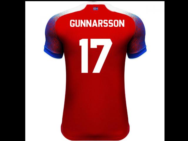 c68fabfce 2018-2019 Iceland Third Errea Football Shirt (Gunnarsson 17 ...