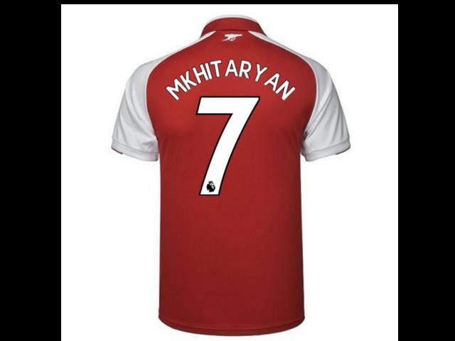 49c0aa8b552 2017-18 Arsenal Home Shirt (Mkhitaryan 7) - Newegg.com