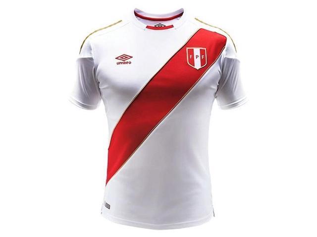 2ffaa2ed96a 2018-2019 Peru Home Umbro Football Shirt - Newegg.com