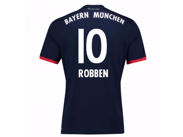 779168e2f 2017-18 Bayern Away Shirt (Robben 10) - Kids - Newegg.com