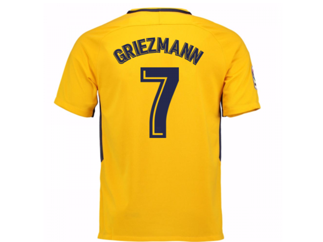 b4c29f8e9 2017-18 Atletico Madrid Away Shirt (Griezmann 7) - Newegg.com