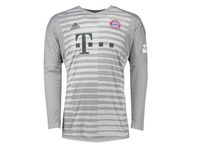 2b47148b8a 2018-2019 Bayern Munich Home Adidas Goalkeeper Shirt - Newegg ...