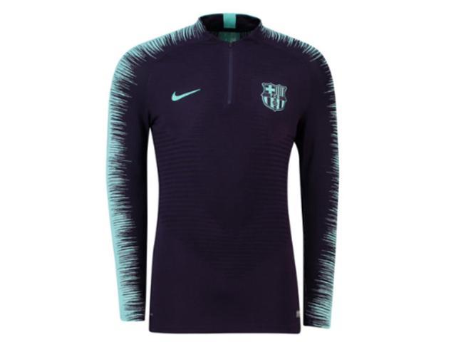 6de32f69924 2018-2019 Barcelona Nike Strike Vaporknit Drill Top (Purple Dynasty ...