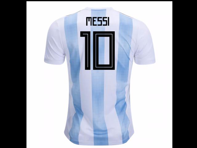 1949df630 2018-19 Argentina Home Shirt (Messi 10) - Kids - Newegg.com
