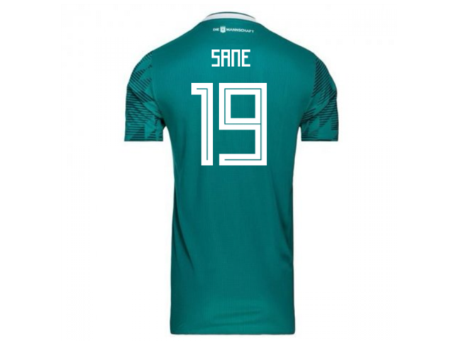 4167e265e 2018-2019 Germany Away Adidas Football Shirt (Sane 19) - Kids ...