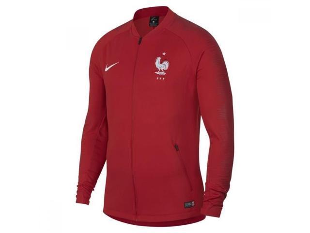 807182caf73 2018-2019 France Nike Anthem Jacket (Red) - Newegg.com