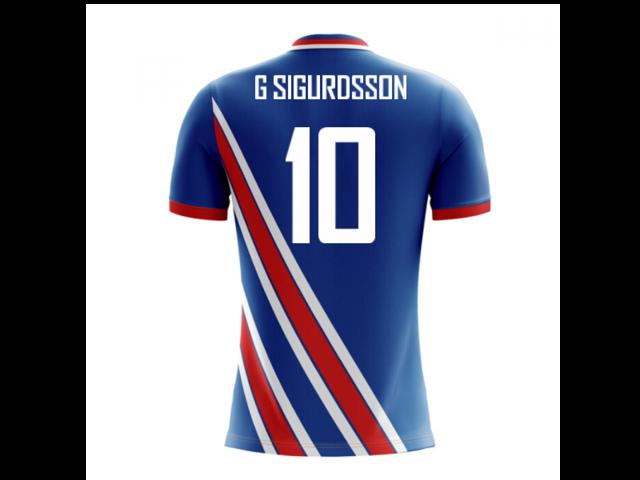 de60174b825 2018-19 Iceland Airo Concept Home Shirt (G Sigurdsson 10 ...
