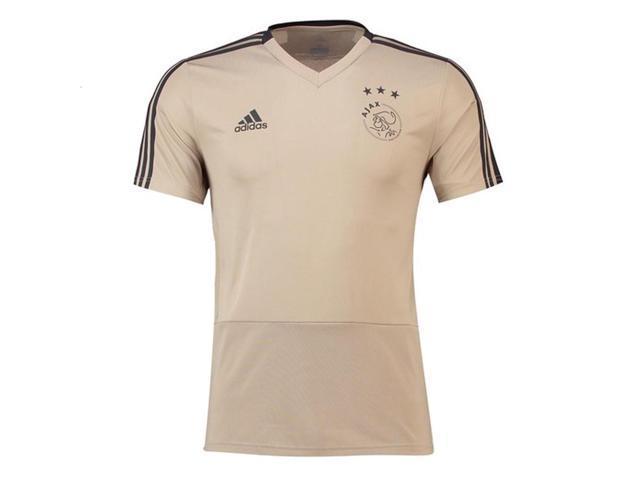 dbc2b91d70a 2018-2019 Ajax Adidas Training Shirt (Raw Gold) - Newegg.com