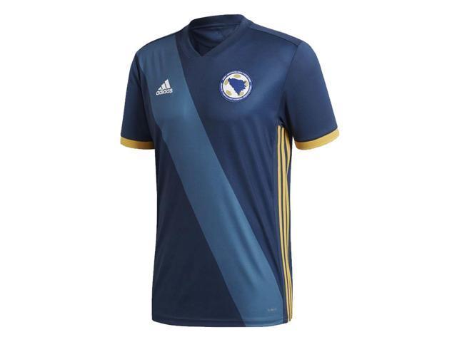 5144f0dae 2018-2019 Bosnia Herzegovina Home Adidas Football Shirt - Newegg ...