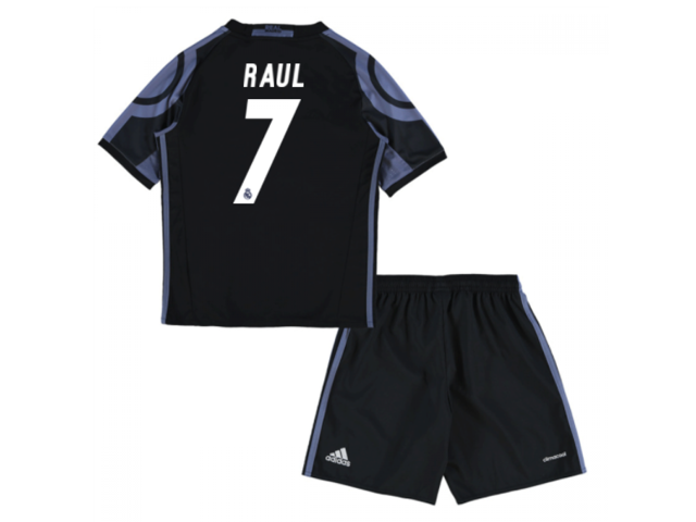 89597f4f517 2016-17 Real Madrid Third Mini Kit (Raul 7) - Newegg.com