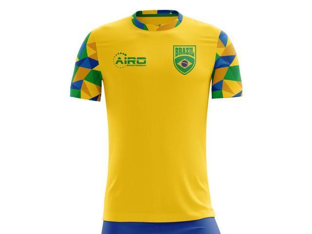 d6bd15253 2018-2019 Brazil Home Concept Football Shirt (Kids) - Newegg.com