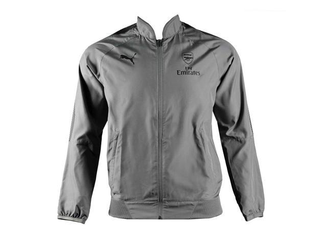 2017-2018 arsenal Puma Casual Performance-chaqueta tejida (sombra oscura) -  para a703e6bfb2990