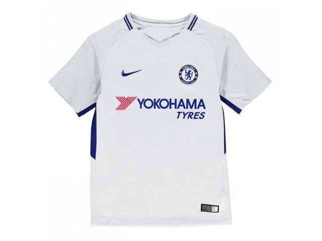 40d847a96 Camisa de pelota de fútbol americano 2017-2018 Chelsea Away de Nike ...