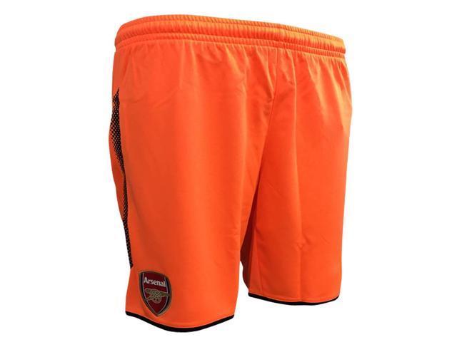 f81d3d376fdea Pantalones cortos de portero de 2017-2018 arsenal lejos (anaranjado)
