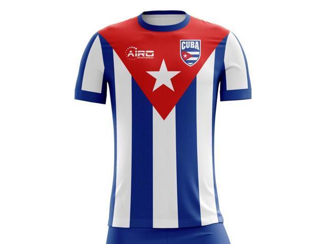 62c5db2d9 2018-2019 Cuba Home Concept Football Shirt (Kids) - Newegg.com