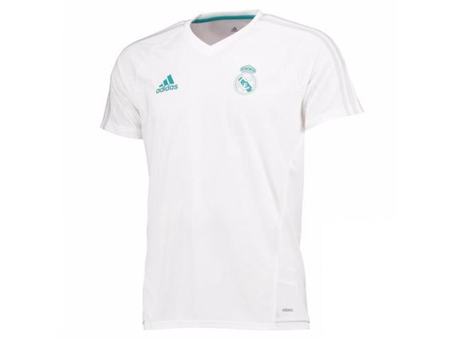 5a46f4776 2017-2018 Real Madrid Adidas Training Shirt (White) - Kids - Newegg ...