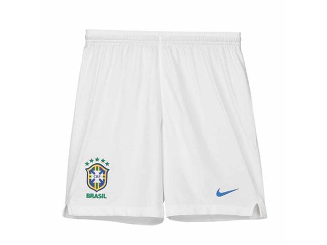 46c6257d05b4 2018-2019 Brazil Nike Away Shorts (White) - Kids - Newegg.com