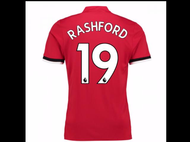 0234370e 2017-2018 Man United Home Shirt (Rashford 19) - Newegg.com