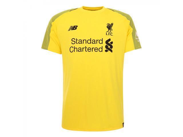 62552b9b1ac 2018-2019 Liverpool Home Short Sleeve Goalkeeper Shirt (Kids ...