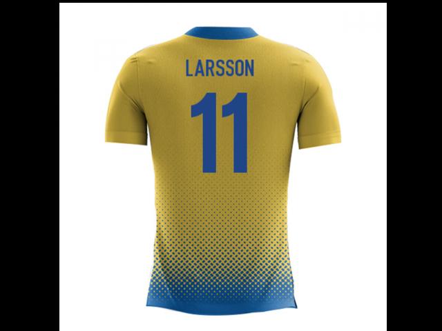 e8269b116 2018-2019 Sweden Airo Concept Home Shirt (Larsson 11) - Newegg ...