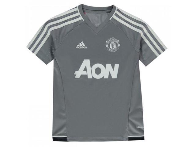 290913dae39 2017-2018 Man Utd Adidas Training Shirt (Grey) - Kids - Newegg.com