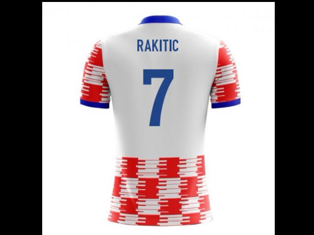 online store 9d6b9 d2155 2018-19 Croatia Airo Concept Home Shirt (Rakitic 7) - Kids - Newegg.com