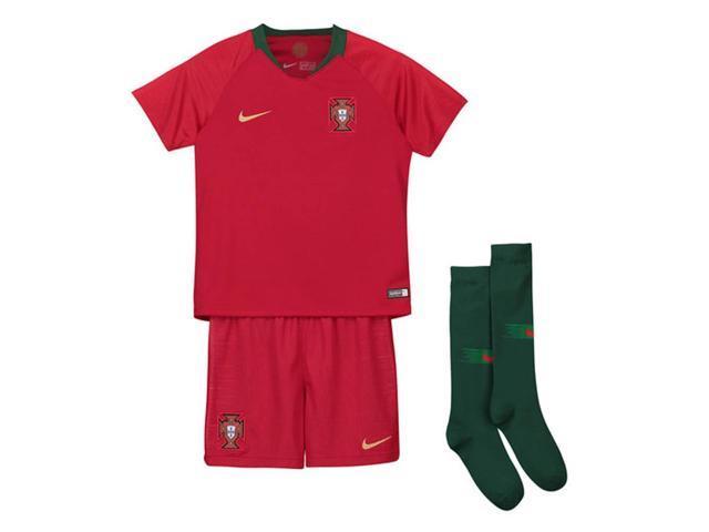 1fcf342b2cc 2018-2019 Portugal Home Nike Mini Kit - Newegg.com