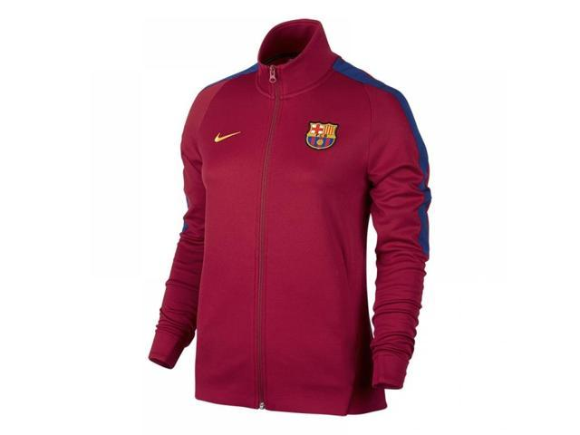 e30384969 2017-2018 Barcelona Nike Authentic Franchise Jacket (Red) - Womens