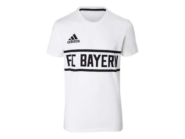 e5fe8f9916 2017-2018 Bayern Munich Adidas Graphic 1900 Lifestyle Tee (White ...
