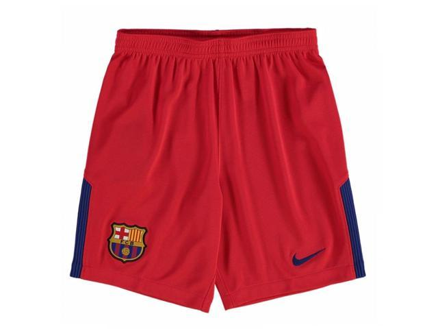 2017-2018 Barcelona Away Nike Goalkeeper Shorts (Red) - Kids ... 15c9f4f44